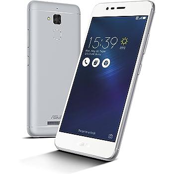 Asus ZenFone 3 Max Smartphone, Memoria Interna da 32 GB, Dual-SIM, Argento [Italia]
