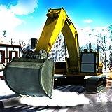 Starke Schneefälle Bagger Kran Simulator 3D
