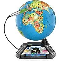 VTech Interaktiver Videoglobus – Weltkugel mit Bildschirm, akustischen und visuellen Lerninhalten (deutsche Version…