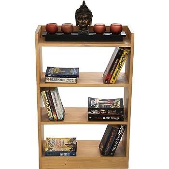 Comfy DIY - Stilcasa Wall Shelf Cum Decorative Unit -Wood -Modern Design - Elegant Finish -Multi Purpose Unit (Color : Natural Wood)