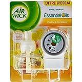 Air Wick Elektrische luchtverfrisser voor thuis, geurdispenser + 1 navulverpakking vanille en orchidee