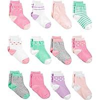 Simple Joys by Carter's - Calzini - Confezione da 12 calzini. - Bebè femminuccia