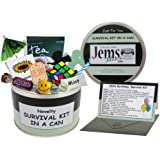 50TH BIRTHDAY SURVIVAL KIT IN A CAN. Happy 50th Birthday All In One Gift & Card. Novelty Fun - Humorous Present. Customise Yo