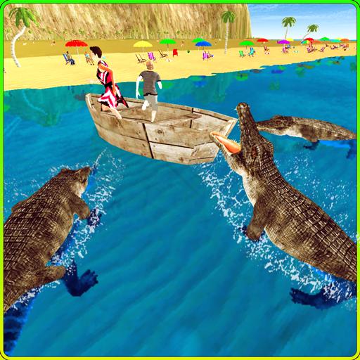 wild-crocodile-beach-attack-3d