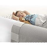 BANBALOO MAX- Rail sängskydd för småbarn – säkerhetsbarriär barnsäng – spädbarn anti-fallskydd/antihalk-skumskena med vattent