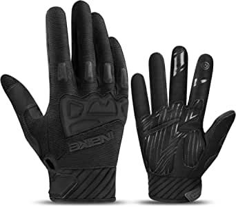INBIKE MTB Gloves Mountain Bike Cycling Racing Ranger SCR TPR Protection Padded Shock Absorption Non-slip Bicycle Cycle for Men Women