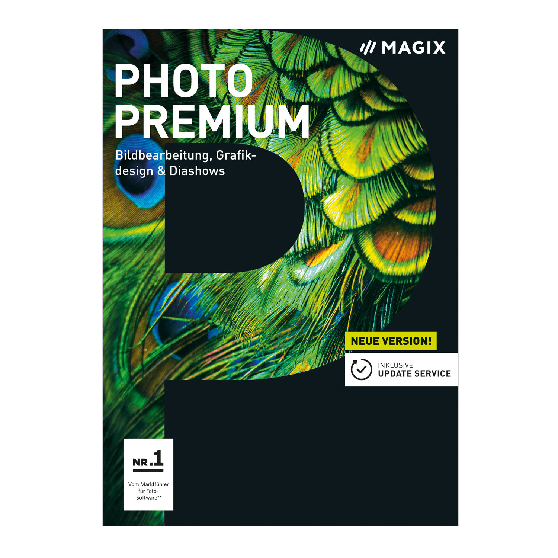 MAGIX Photo Premium - Version 2018 - Das Bildbearbeitungs- & Slideshow-Programm [Download]