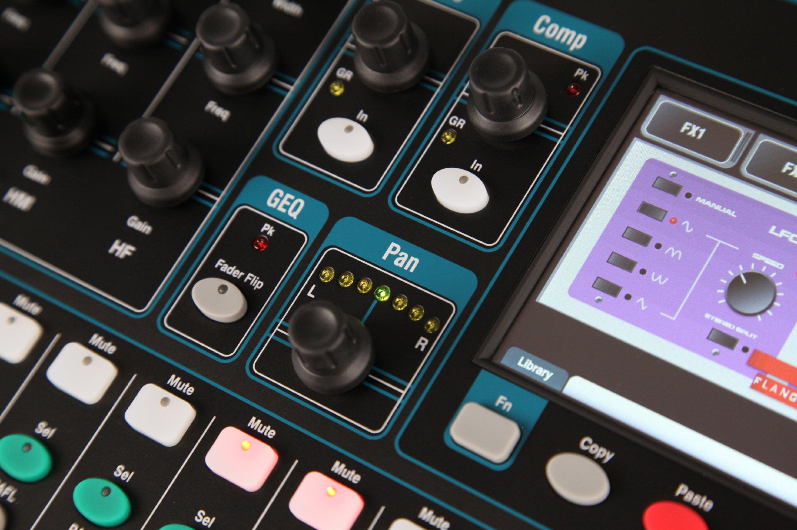 Allen & Heat QU-16 Rackmountable Digital Mixer per Live, Studio e  Installazione