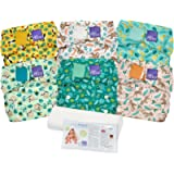 Bambino Mio, miosolo reusable nappy set, rainforest, Onesize
