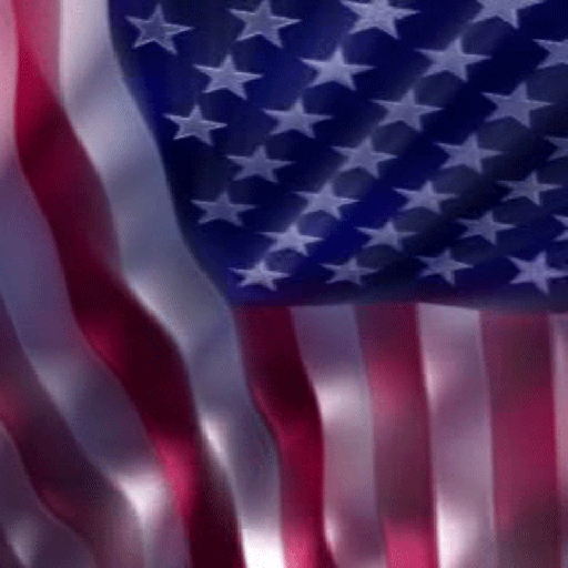 HD American Flag Live Wallpaper (High Definition)