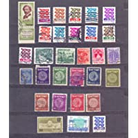 Israel - 30 Used Stamps as Shown - 10 Old Stamps on Coins Included - Z 160