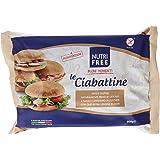 Nutri Free le Ciabattine, Senza glutine, 1 Confezione da 200 g (50g x 4)
