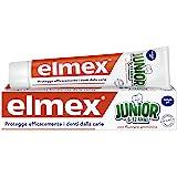 Elmex - Dentifricio Junior 6-12 Anni - Dentifricio Per Bambini Con Fluoruro Amminico - Protegge Efficacemente I Denti Dei Bim