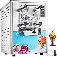 VEVOR Machine à Crème Glacée, Sorbetière Turbine à Glace en Blanche, Machine à Crème Glacée Commerciale pour les Pubs…
