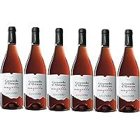 Vino Rosato Cerasuolo d  39 Abruzzo D O C  2019 Cantine quot LAMPATO quot  Colline Pescaresi   Abruzzo   Italy   Box da 6 Bottiglie da 0 75 lt