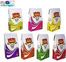 Vedant Herbal Gulal Holi Colour Powder (Glittered- 7 Pack Gift Box)