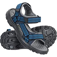 Mountain Warehouse Crete Mens Sandals - Durable Summer Shoes, Sturdy Grip, Cushioned Footbed, Neoprene Lined, Hook…