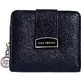 Lino Perros Black Faux Leather Womens Wallet (Black)