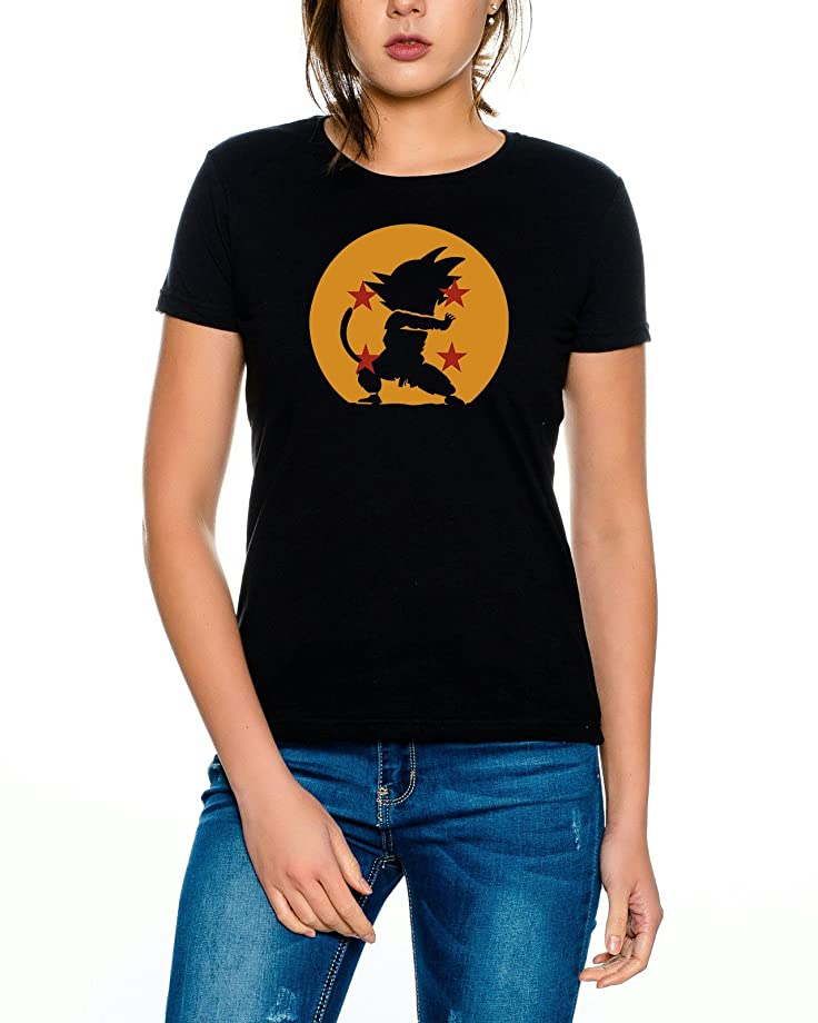 Dragon Kamehameha Ball Son Goku Roshi DBZ Kult Fun Manga Anime Damen T-Shirt:  Amazon.de: Bekleidung