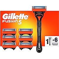 Gillette Fusion5 Razor for Men + 7 Refill Blades with Precision Trimmer