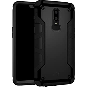 online store 0e679 b4072 TUDIA OnePlus 6 Case, OMNIX [Heavy Duty] Hybrid [Full-body] Case with Front  Cover and Built-in Screen Protector/Impact Resistant Bumpers for OnePlus 6  ...