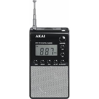 Akai APR25 Taschenradio: Amazon.de: Audio & HiFi