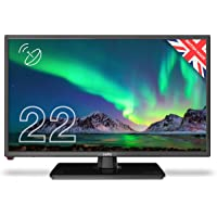 """Cello C2220S 22"""" inch Full HD LED TV with Freeview T2 HD, DVB and Built In Satellite– UK…"""