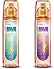 Engage W3 Perfume Spray For Women, 120ml and Engage W2 Perfume Spray For Women, 120ml