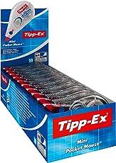 Tipp-Ex Mini Pocket Mouse Korrekturroller – Korrekturband 6 m x 5 mm – 10er Pack in praktischer Displaybox