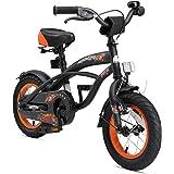 BIKESTAR Vélo Enfant pour Garcons et Filles de 3-4 Ans Bicyclette Enfant 12 Pouces Cruiser avec Freins