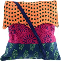 Tribes India Women's Sling Bag (Multicolour)