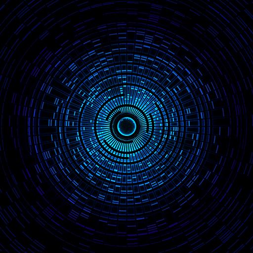 Mystic Halo Live Wallpaper (Blue Halo Ringe)