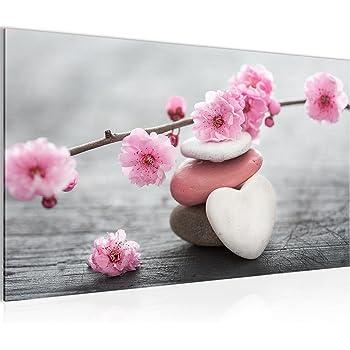 Bilder Feng Shui Blumen Wandbild Vlies Leinwand Bild Xxl Format