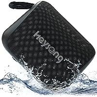 Heysong Kleine Bluetooth Box, Tragbarer Handy Bluetooth Lautsprecher mit IPX7 Wasserschutz, 24h Akku, Intensiver Bass…
