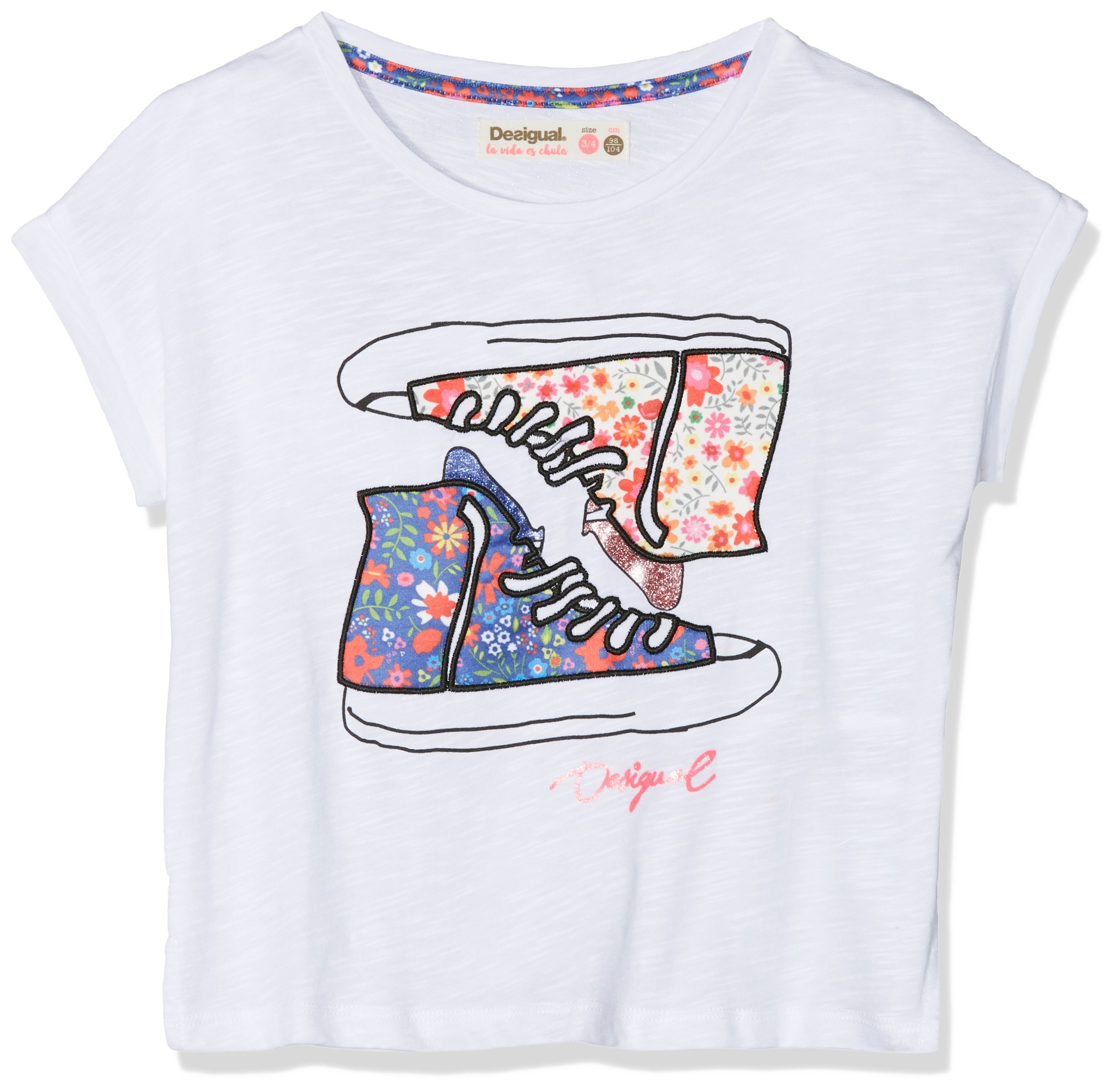 Desigual TS_eriosyce Camiseta para Niñas
