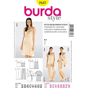 Burda Schnittmuster 6743 Boss White Night Shirt: Amazon.de: Küche ...