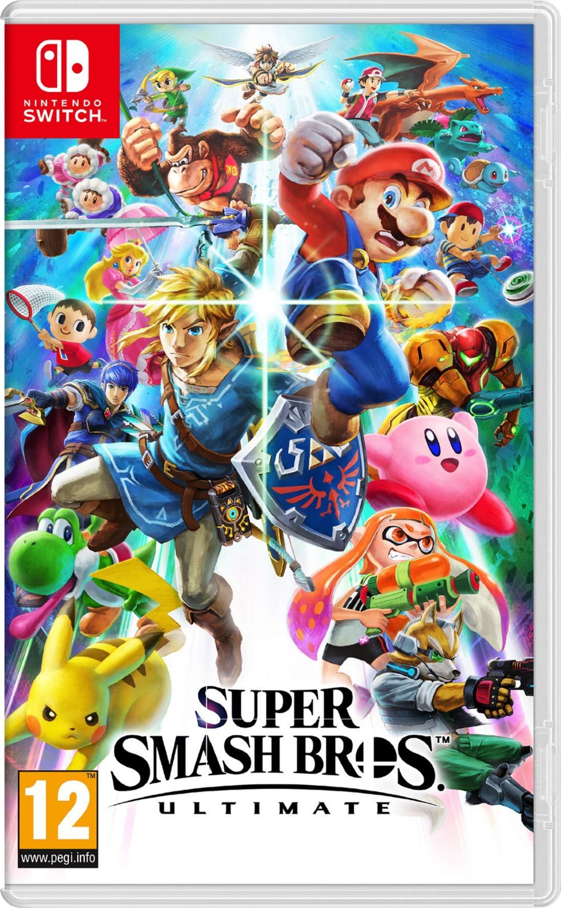 Super Smash Bros – Ultimate – Nintendo Switch [Importación inglesa]