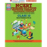 Oswaal NCERT Problems - Solutions (Textbook + Exemplar) Class 10 Mathematics Book (For 2021 Exam)