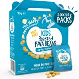 The Happy Snack Company Roasted Fava Beans, Lightly Salted Flavour Healthy Snack, Lunchbox Friendly, High Protein, Low…
