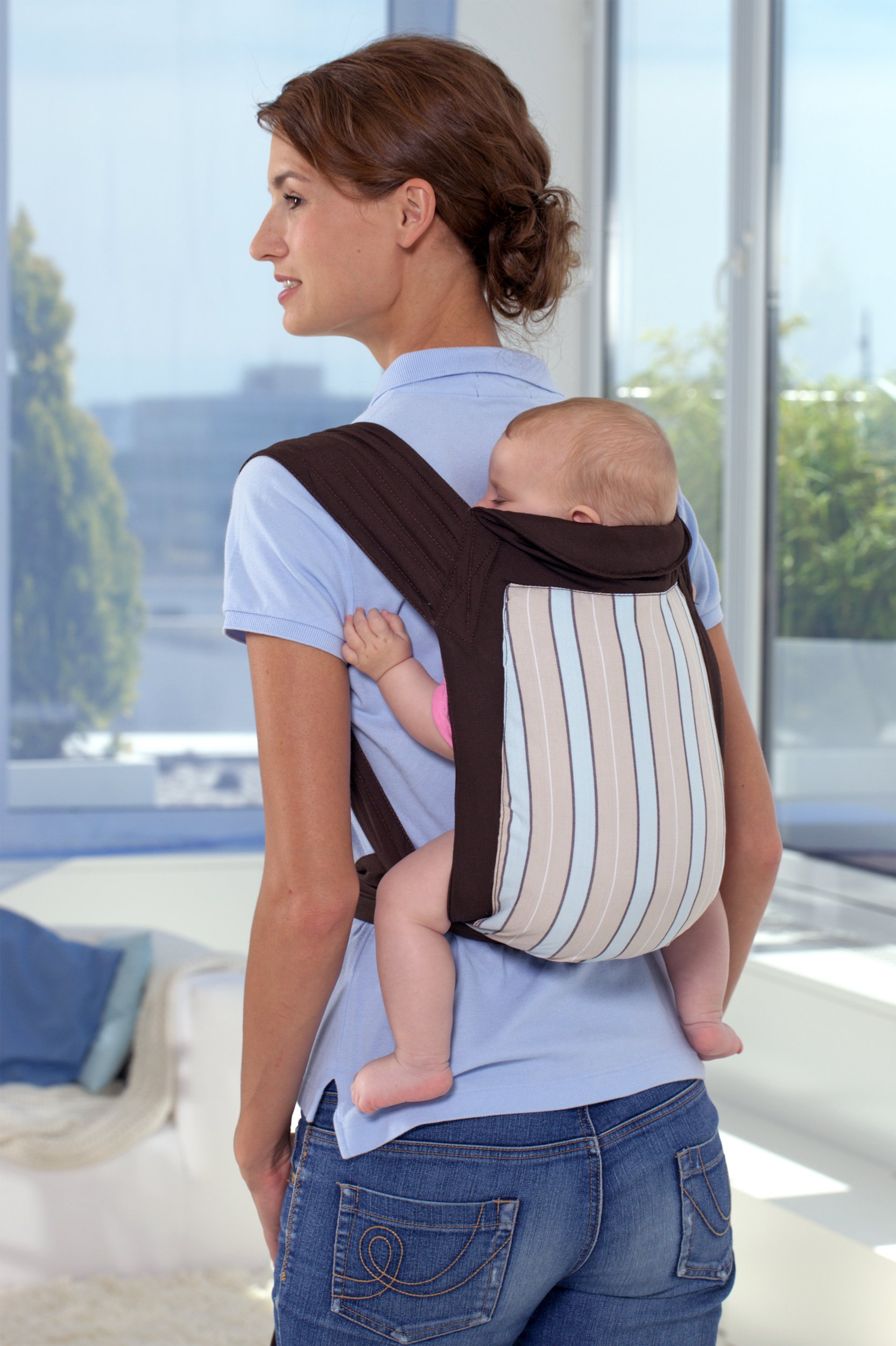 Amazonas Mei Tai Asian Traditional Baby Carrier  Available in 2 designs Carrier can be reversed Easy to put on 3
