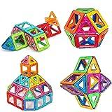 Morkka Bloques de construcción de Bloques magnéticos de 124 Piezas Juegos educativos para niños, de Construction Building Set