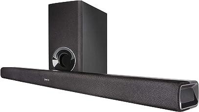 Denon DHTS316BKE2  Soundbar mit Wireless Subwoofer (HDMI mit ARC, Opitcal, Bluetooth, Dolby und DTS Decoder) Schwarz