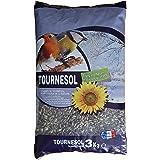 Aimé - Graines de Tournesol - Nourriture pour Oiseaux du Ciel - Source de Protéines et Matière Grasses - Made in France - Sac