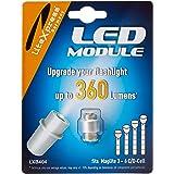 LiteXpress LXB404 LEIDENE Upgrademodule, 360 Lumen voor 3-6 C/D CelMaglite Toortsen