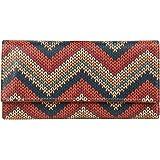 ShopMantra Textile Pattern Design Multicolored Canvas Women's Wallet (LW00000177)