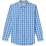Marca Amazon - Goodthreads Standard-fit Long-Sleeve Micro-Check Shirt Hombre