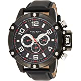 Akribos XXIV Men's Swiss Quartz Multifunction Watch - Stainless Steel Decorative Screws Bezel - Luminous Hands and Markers-Ge