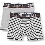 s.Oliver Doppelpack Hipshorts Grey Mel. Ropa Interior para Niños