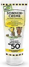 Janosch Sonnencreme für Babys und Kinder (1x150ml) Lichtschutzfaktor 50+ von Paediprotect …