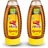 Dabur Honey - World's No.1 Honey Brand - Squeezy pack - 400 gm ( Buy 1 Get 1 Free)